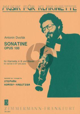 Dvorak Sonatine Op.100 Klarinette-Klavier (transcr. Korody-Kreutzer)