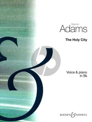 Adam The Holy City Medium Voice (Bb)-Piano