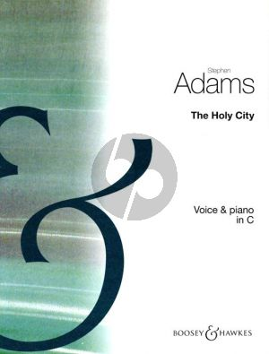 Adam The Holy City Medium-High Voice (C)-Piano