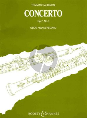Albinoni Concerto Op.7 No.3 B-flat Oboe-Piano (Paumgartner)