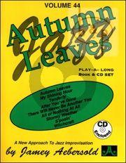 Jazz Improvisation Vol.44 Autumn Leaves
