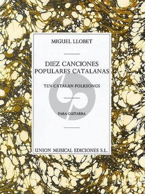 10 Canciones Populares Catalanas para Guitarra
