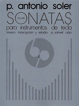 Soler Sonatas Vol.2 (No.21-40) Harpsichord (ed. P.Samuel Rubio)
