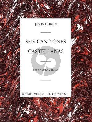 Guridi 6 Canciones Castellanas Medium / High