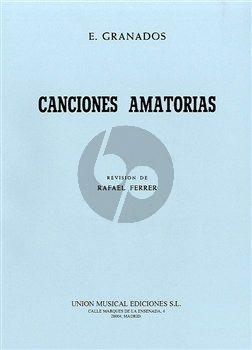 Canciones Amatorios Voice-Piano