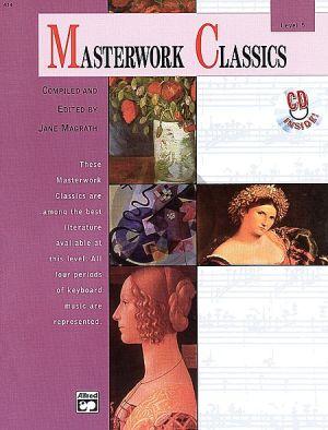 Masterwork Classics Level 5 Piano (Bk-Cd)