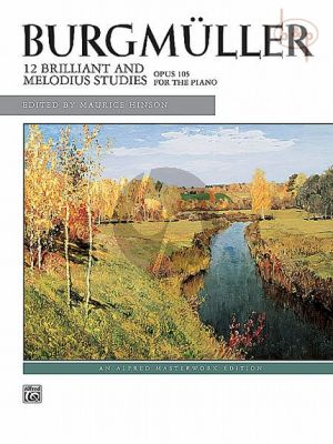 12 Brilliant and Melodious Studies Op.105