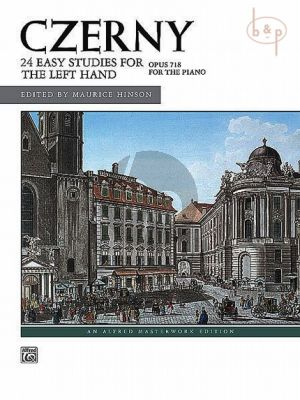 24 Easy Studies for the Left Hand Op.718 Piano