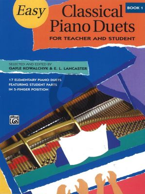 Easy Classical Piano Duets Vol.1