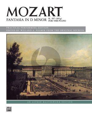 Fantasia D-minor KV 397 Piano solo