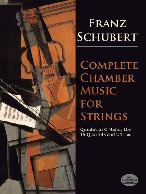 Schubert Complete Chambermusic for Strings Fullscore (Edited Eusebius Mandyczewski and Joseph Hellmesberger)