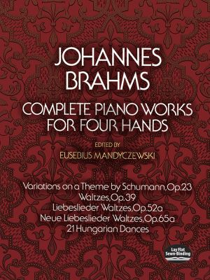Complete Piano Works Piano 4 Hds