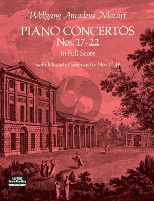 Concertos Nos.17 - 22 Piano-Orch. Full Score