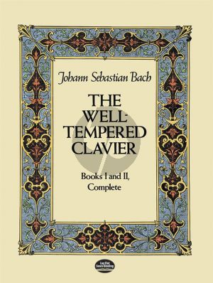 Bach The Welltempered Clavier Vol.1-2 Complete Piano