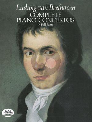 Piano Concertos Complete Full Score