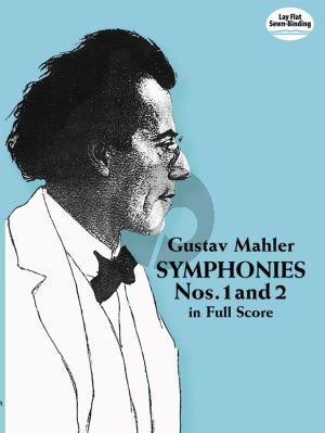 Symphonies No.1 - 2 Full Score