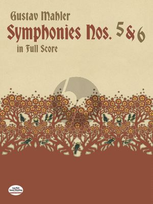Symphonies no.5 and 6 Full Score