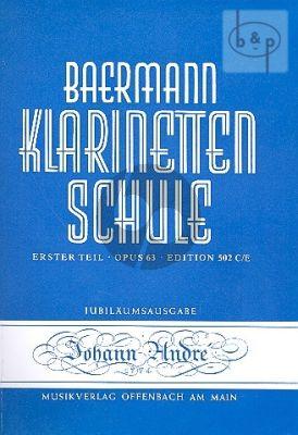 Klarinettenschule Vol.1 Abt.3 & 5 Baermann C.
