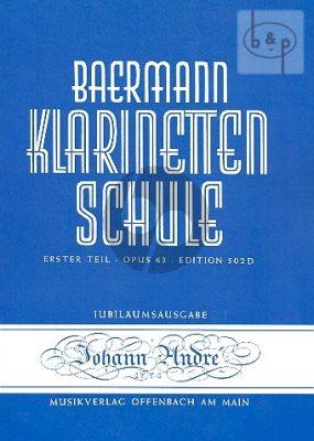 Klarinetteschule Band 2 Op.63 Teil 1