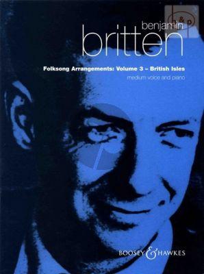 Folksong Arrangements Vol.3