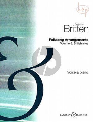 Folksong Arrangements Vol.5