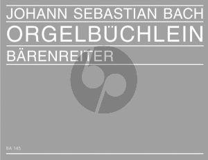 Orgelbuchlein und andere kleine Choralvorpsiele