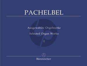 Pachelbel Orgelwerke Vol.1 (Praeludium-Fantasie-Toccaten- Ricercar-Canzonen) (Matthaei)