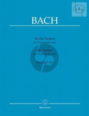 6 Suites (BWV 1007 - 1012) Violoncello