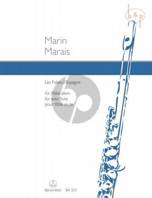Les Folies d'Espagne Flute solo