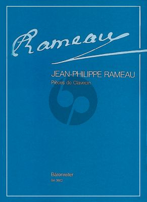 Rameau Pieces de Clavecin Complete Edition. With the composer's original appended texts unabridged, directions for playing and ornamentation tables (Edited by Erwin R. Jacobi) (Barenreiter)