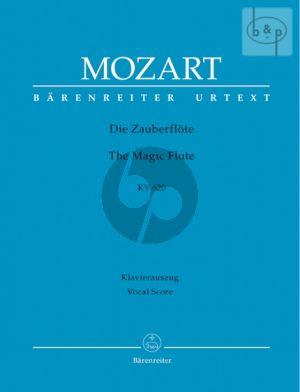Mozart Die Zauberflote KV 620 (Vocal Score) (edited by Martin Schelhaas) (germ.) (Barenreiter-Urtext)