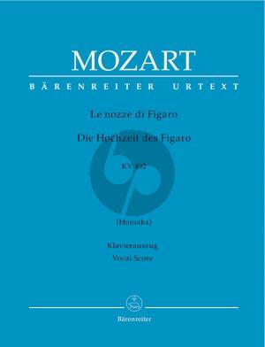 Mozart La Nozze di Figaro KV 492 Vocal Score (ital./germ.) (Honolka) (Barenreiter-Urtext)