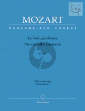 La Finta Giardiniera KV 196 (Die Gartnerin aus Liebe) (Vocal Score) (ital.germ.)