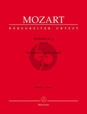 Mozart Symphonie g-moll KV 183 (K.6: 173 dB) Partitur