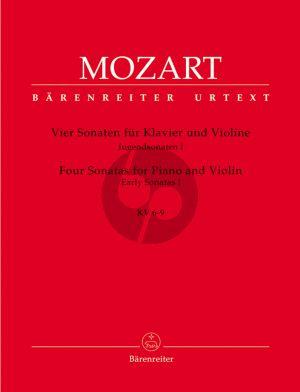 Jugendsonaten Vol.1 (KV 6 - 9) Violine-Klavier