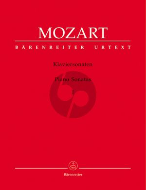 Mozart Sonaten Vol.1 Klavier (Wolfgang Plath und Wolfgang Rehm) (Barenreiter-Urtext)
