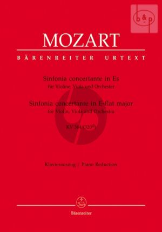 Sinfonia Concertante E-flat major KV 364 (Score/Parts) (with original scordatura viola part)