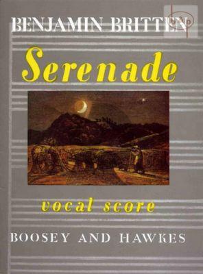 Britten Serenade Op.31 Tenor Solo-Horn in F and Piano