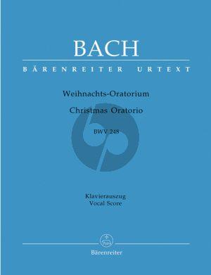 Weihnachts Oratorium BWV 248 (KA) (Urtext Neuen Bach-Ausgabe) (engl./deutsch)