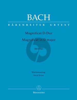 Magnificat D-dur BWV 243 Klavierauszug