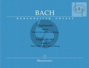 Orgelwerke Vol.4 Dritter Teil der Clavier-Ubungen