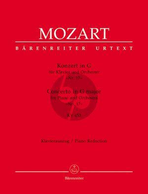 Mozart Konzert G-dur (KV 453) (Ed. 2 Pianos) (Urtext der Neuen Mozart-Ausgabe)