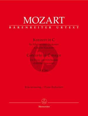 "Mozart Concerto for Piano and Orchestra No 8 C major KV 246 ""Lützow Concerto"" reduction 2 Pianos"
