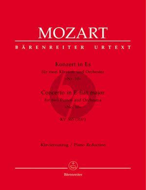 Mozart Concerto E-flat major KV 365 (316A) 2 Piano-Orch. (piano red.)