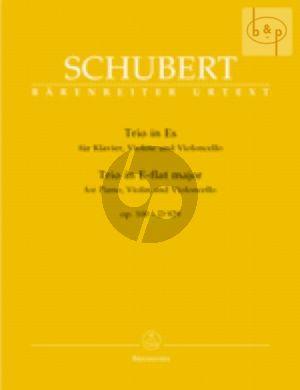 Trio Es-dur Op.100 Vi.-Vc.-Klavier