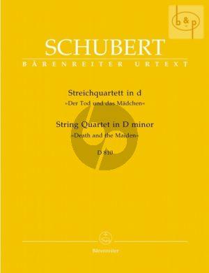 """Streichquartett d-moll D.810 """"Tod und das Madchen"""""""