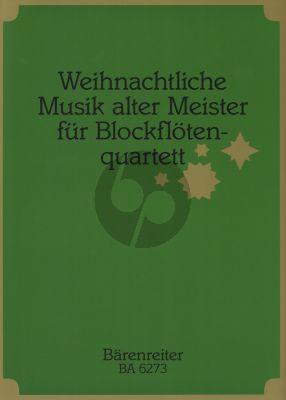 Weihnachtliche Musik alter Meister 4 Blfl. (Rolf Schweizer)