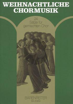 Weihnachtliche Chormusik (24 Satze fur gemischten Chor) (arr. Ulrich Zimmer)