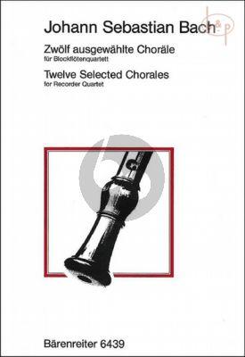 12 Ausgewahlte Chorale (SATB)