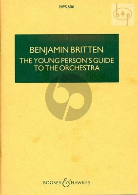 Young Persons Guide to the Orchestra Op.34 Study Score